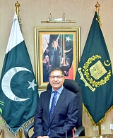 Barrister Syed Ali Zafar Federal Minister for Power Division, Ministry of Energy Chairman AEDB