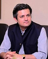 Hammad Azhar Fedral Minister for Energy (Power Division)