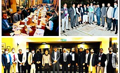 Farewell dinner of CEO AEDB, Dr. Rana Abdul Jabbar Khan.